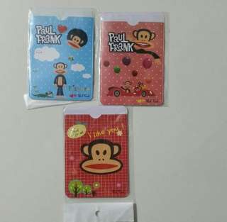 [Juniorcloset] 3 for $1.80 Mail 🆕 Paul Frank print Ezlink cardholder