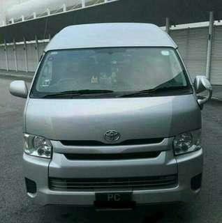 13-Seater Van For Hari Raya