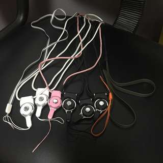 [包郵] 掛頸長電話繩 腕帶 相機繩 短手機繩