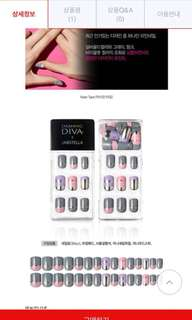 Dashing Diva X Unistella Clip on Nails