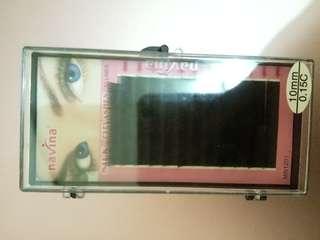 Eyelashes extension individual navina