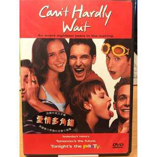 DVD - Can't hardly wait 愛情多角錯 Jennifer Love Hewitt 珍藏