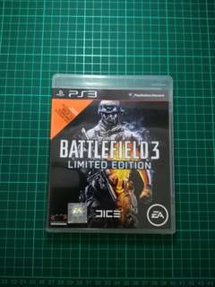 Ps3 Game - Battlefield 3 (Limited Edition)