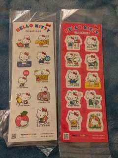日本限定 Hello Kitty 郵票 (1套2款)