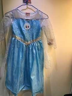Disney 公主裙 Elsa outfit for size 110-120