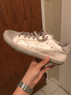 Fake golden goose leather sneakers size 5.5