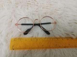 EXO BTS Doll glasses (gold)