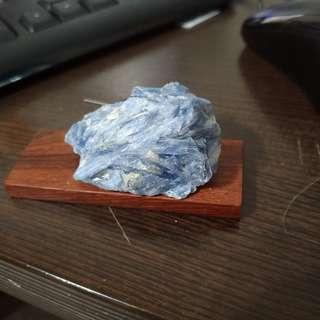 天然藍˙晶石原礦擺件