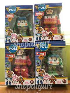 Robocar Poli Transforming Robot Roy and Helly Robot Transform Heli Roy
