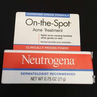 Neutrogena on the spot treatment