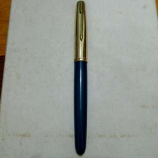 Blue Parker 51 Fountain Pen Vintage 11
