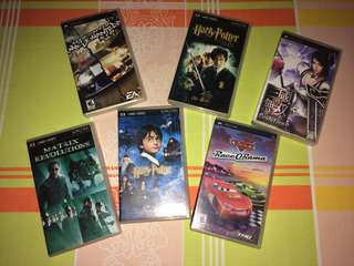 PSP UMD (Movies and Games)