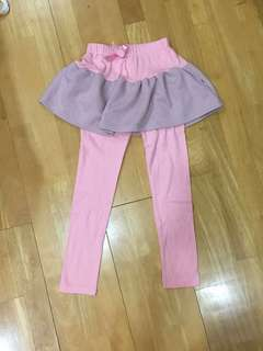 Girls skirt pants