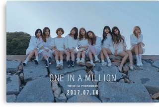 Twice One In A Million photobook (PO)