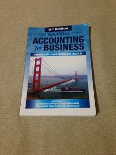 Simplified accounting for business