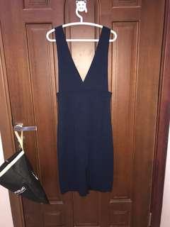 Dress biru casual