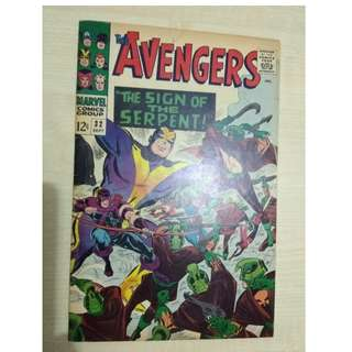 Avengers Vol. 1 # 32 - 1st appearance Dr. Bill Foster (Black Goliath)