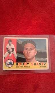 1960 topps bobby shantz