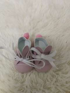 EXO BTS rabbit doll shoes (pink)