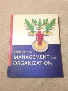 Peinciples of Management and Organization