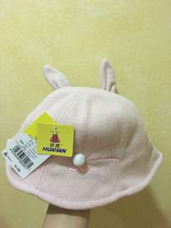 Girls smiley rabbit hat