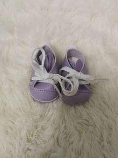 EXO BTS rabbit doll shoes (purple)