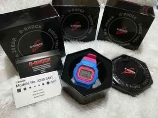 Casio G-Shock - Blue&Pink