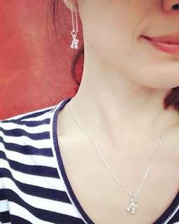 🚚 Liv Design #925純銀 #音符項鍊 #純銀項鍊