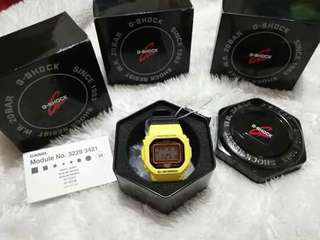 Casio G-Shock - Black&Yellow