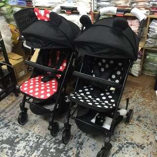 Disney foldable stroller
