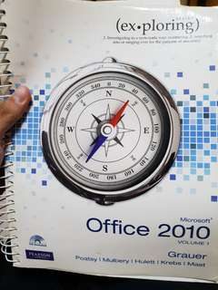 Office 2010 (comes with CD)