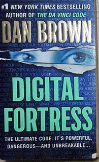 Digital Fortress by Dan Brown (old/used)