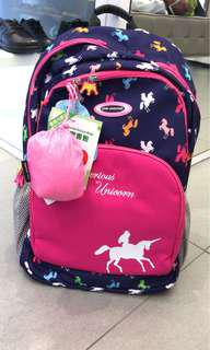全新小學生書包school bag
