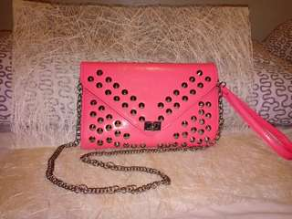 Sling bag with chain Never been used