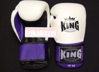 90% new King 拳套 10oz