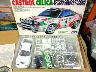 田宮雙星Tamiya1比24Celica跑車模型
