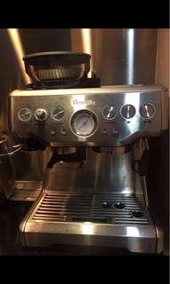 95% new Breville coffee machine