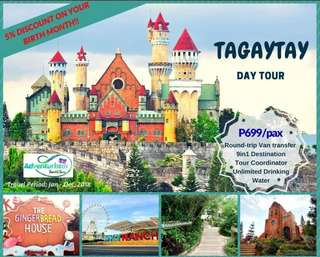 Tagaytay 10in1 Destination Day Tour