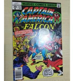 Captain America Vol. 1 # 217 - 1st appearance Quasar