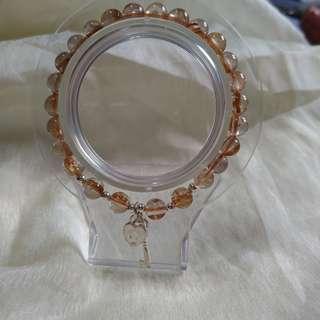 鈦晶手珠925銀設計款