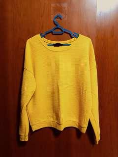 New Look Mustard Long Sleeve Top