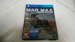 PS4 Mad Max Steelbook