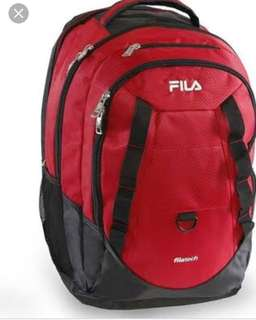 Authentic FILA backpack