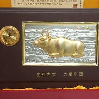 西夏神牛裝飾連鐘