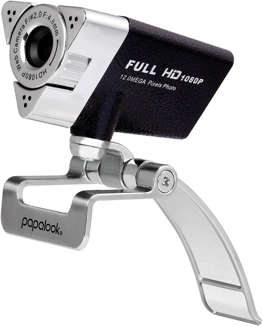 369 Webcam 1080P FHD, PAPALOOK PA187 Full HD Web Cam with Buit-in  Microphone, PC Camera for Skype, MSN, Yahoo, AOL Instant Messenger, Windows  Live
