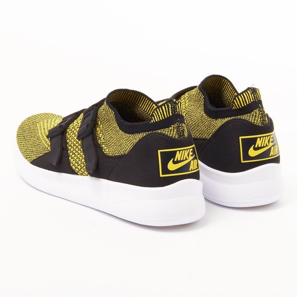 online retailer 08500 dfe4d Nike Air Sockracer Flyknit Yellow Strike 898022-700, Men s Fashion,  Footwear, Sneakers on Carousell