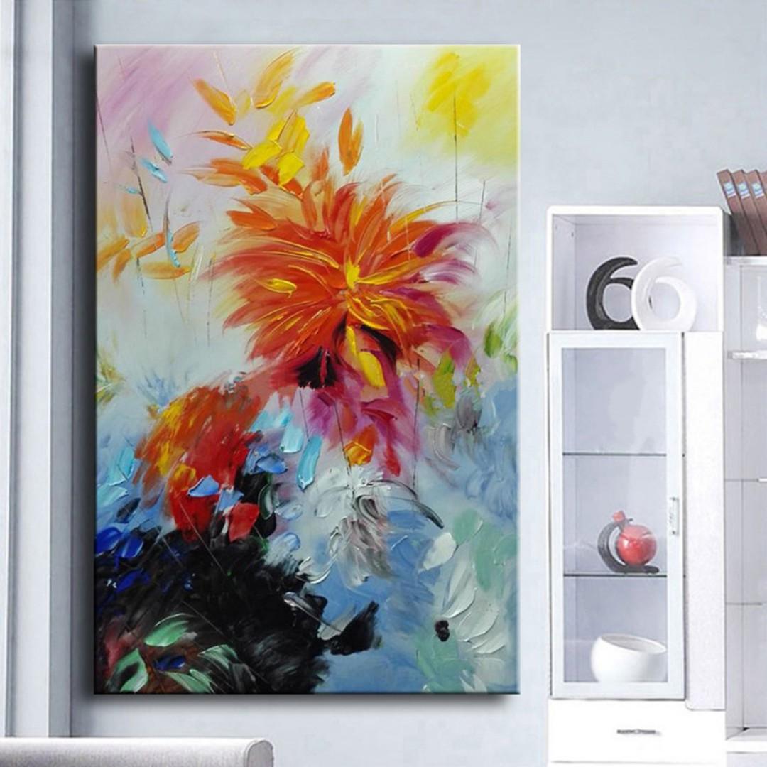 Abstract Art Oil Painting 50cm X 80cm Design Craft Art Prints