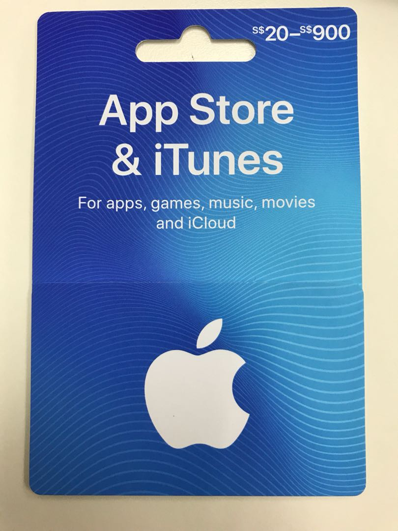 Cards Vouchers Apple amp; Card Store Itunes Entertainment Carousell On Gift
