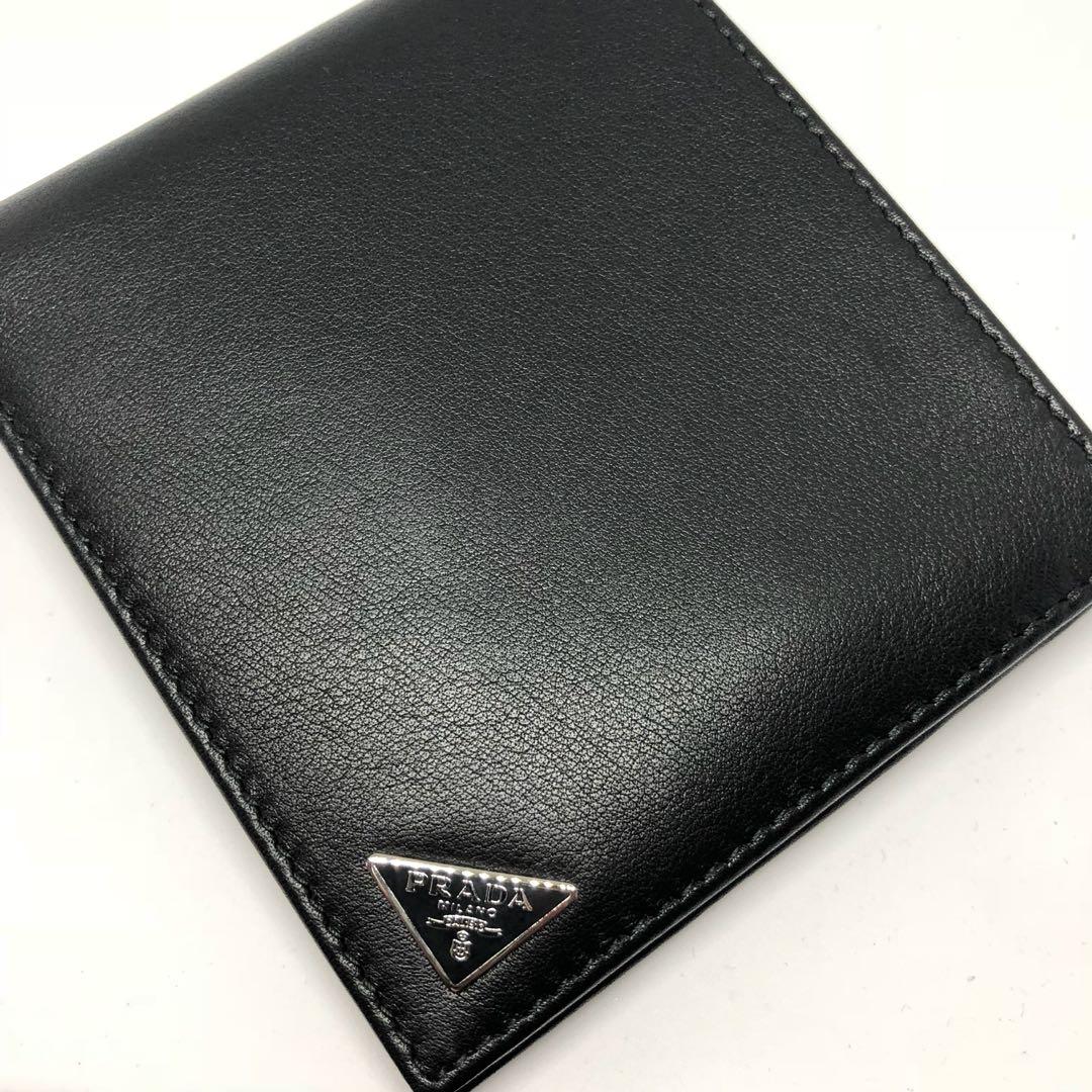 857e34fc5fc9 ... sale bags 0e4df b54cf 1f79c 04ad5; usa brand new prada men nero black  smooth vitello leather wallet with 8 card slots mens