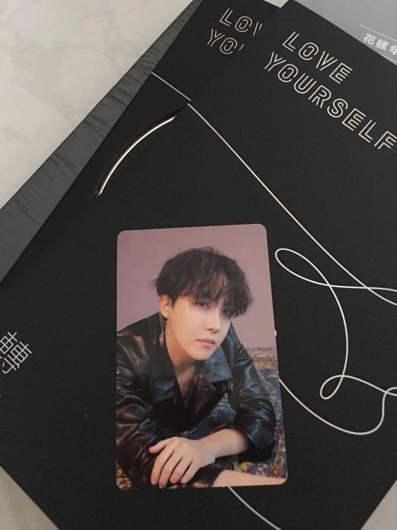 Bts Love Yourself Tear J Hope Pc O Version Entertainment